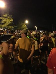 2015 Tupelo Marathon starting line