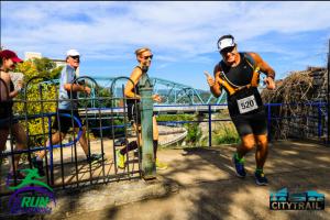 Climbing the zig-zag path. Photo by: We Run Chattanooga