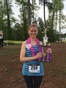 Mary Catherine - 2015 Hawaiian Run 3rd place overall
