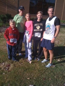 Another Harvest Classic flashback to 2009 with our whole family