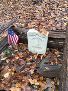 Grave of the Unknown Soldier at Kennesaw Mountain
