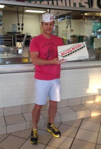 National Donut Day at Krispy Kreme in Atlanta, GA