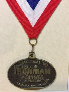 1999 Ironman Florida finisher's medal