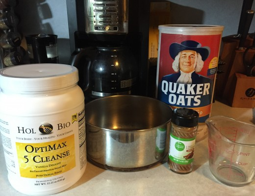 Joe's old fashioned oatmeal breakfast