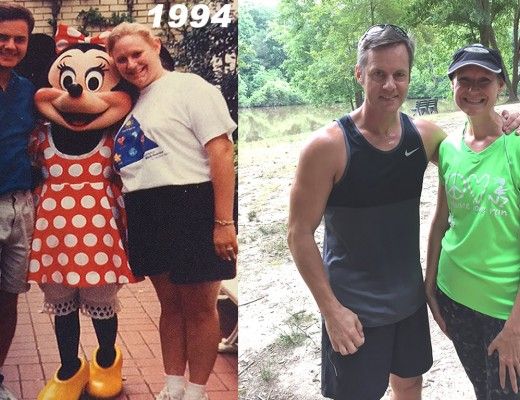 Before and after weight loss from 1994 to 2015
