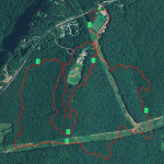 2015 Lookout Mountain 10K Satellite View