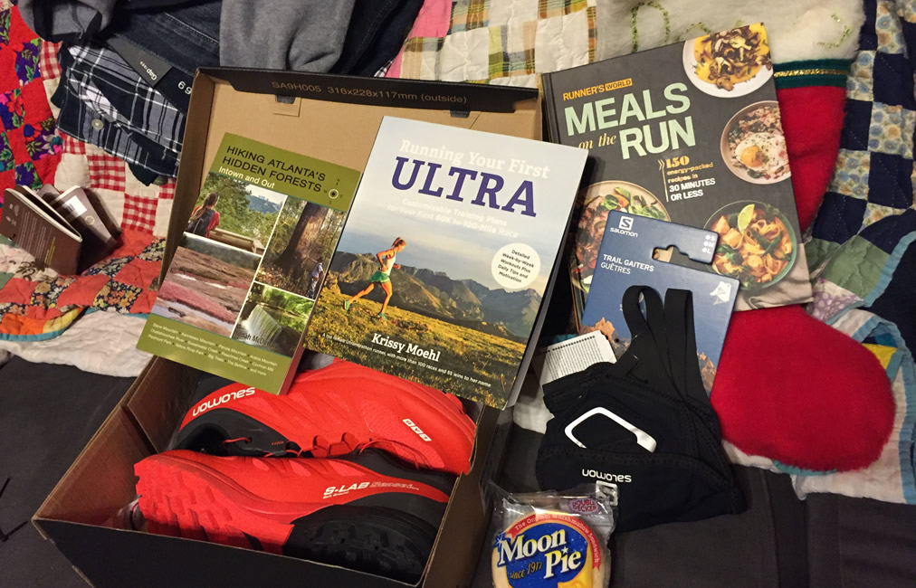 2015 Christmas presents to help supply us for more running adventures in 2016