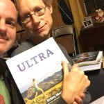 Joe and Mary Catherine read about ultra training