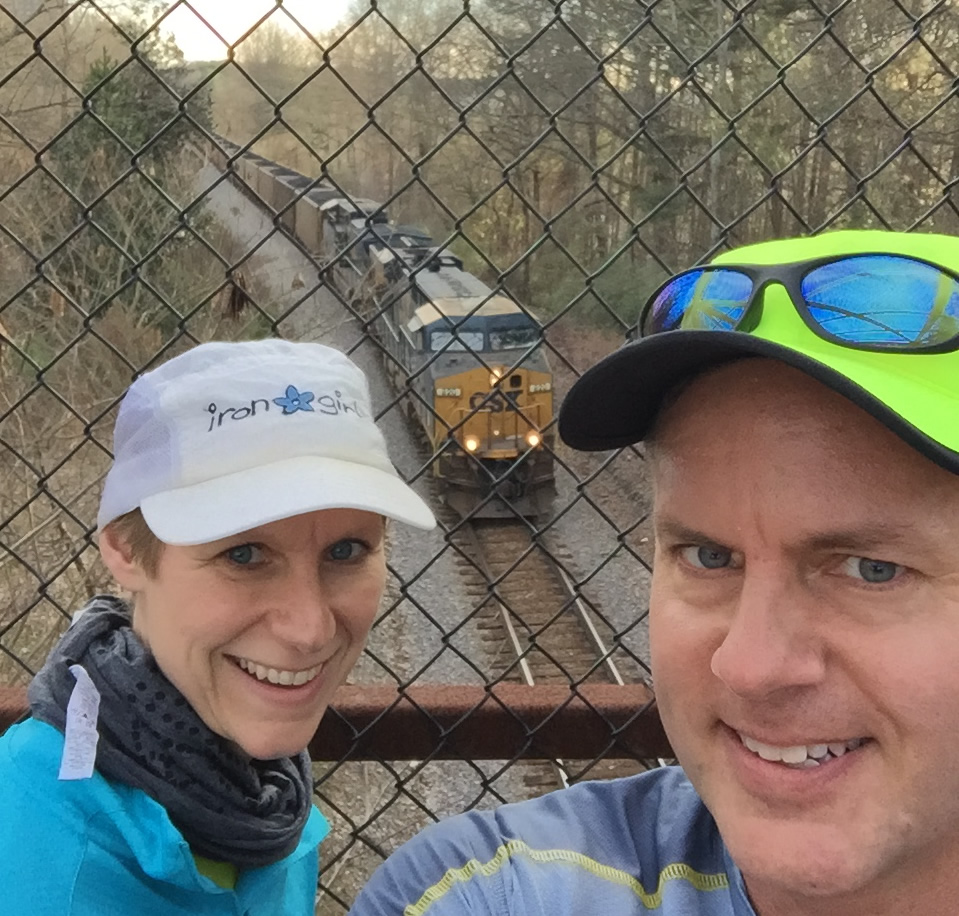 Mary Catherine and Joe complete the journey of South Peachtree Creek Trail