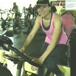 MC on the spin bike