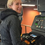 MC eases back into running on the treadmill