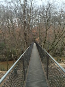 Bridge across South Peachtree Creek at Lullwater