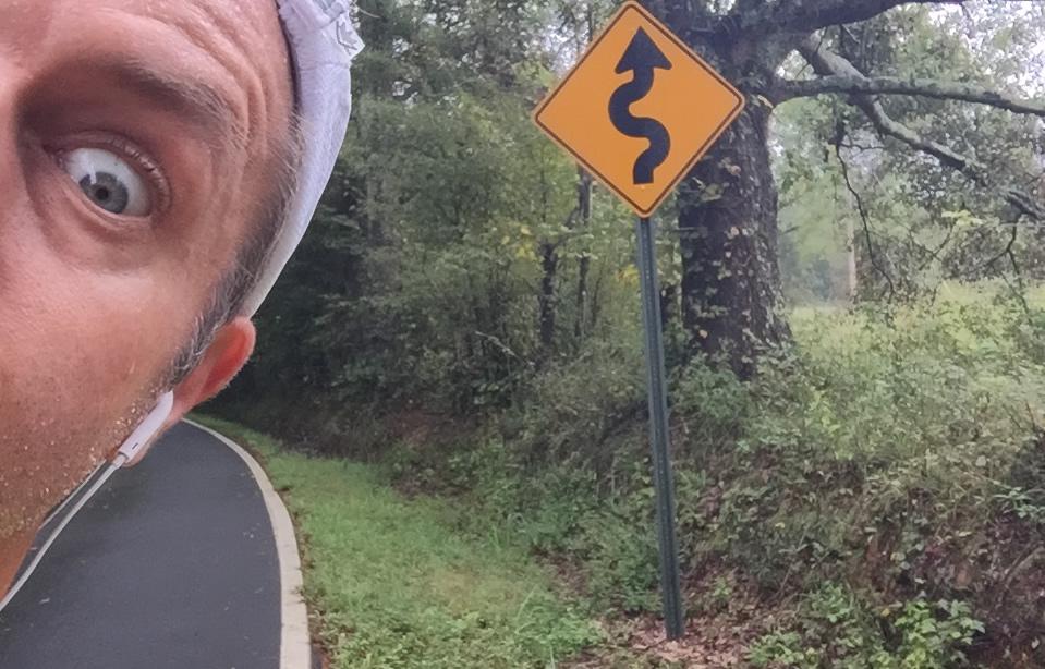 Joe Domaleski on a daily run